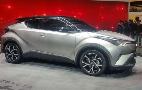 Toyota C-hr Al Salone Di Ginevra 2016 (foto)