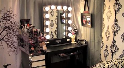 Broadway Lighted Vanity Makeup Desk by Broadway Lighted Vanity Makeup Desk Home Furniture Design