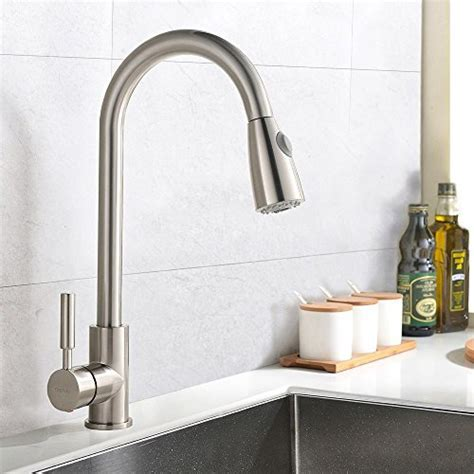 Best Commercial Stainless Steel Single Handle Pull Down