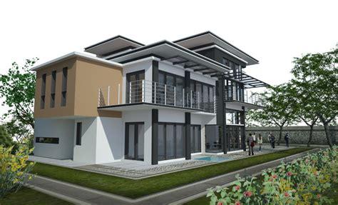 rizarcdesign double storey terrace house