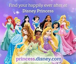 Disney.com Launches All New Disney Princess Website
