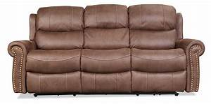Legend power reclining sofa brown levin furniture for Levin furniture living room chairs