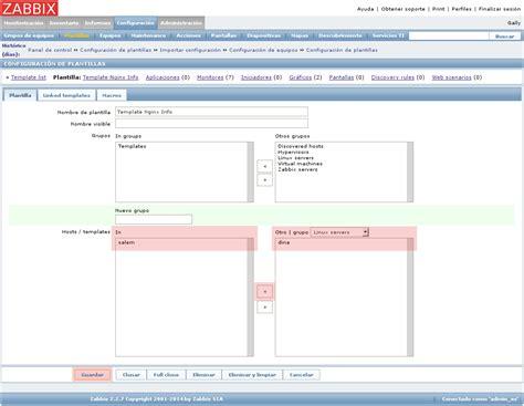 zabbix templates templates de zabbix