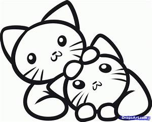Cute Kitten Printable Coloring Pages Coloring Home
