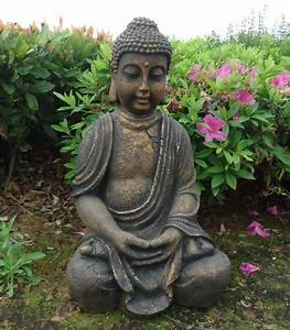 Buddha Statue Im Garten : buddha statue sehr gross figur buddha statue garten indoor outdoor tinas collection das ~ Bigdaddyawards.com Haus und Dekorationen