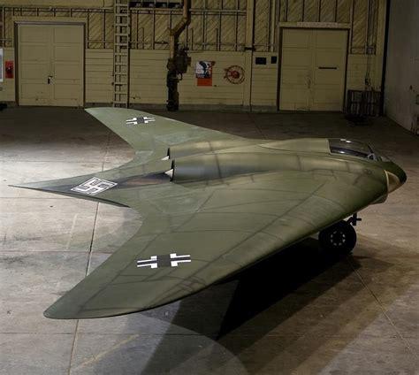 """The Horten 229 V3 """"flying Wing"""""""