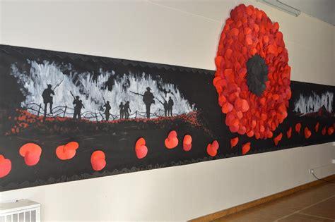 ralph sadleir school remembrance display