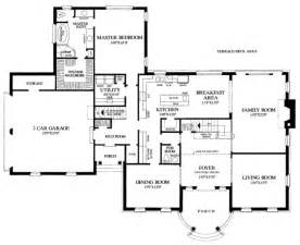 bedroom house floor plan inspiration southern style house plan 5 beds 3 5 baths 3951 sq ft
