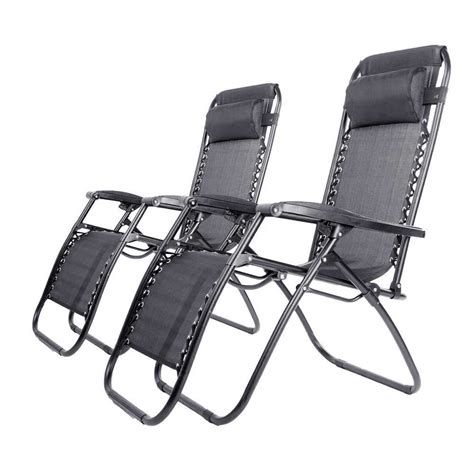 deluxe heavy duty zero gravity reclining sun lounger