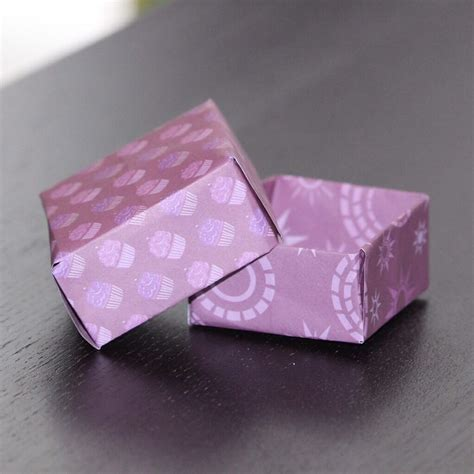 origami box falten handmade kultur