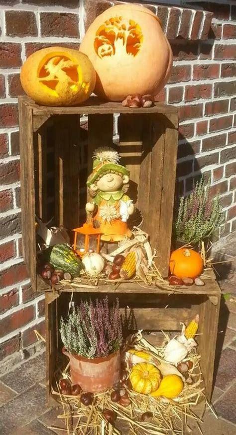 Herbst Dekoration Kaufen by Herbst Dekoration Weinkisten Deko Autumn Decorating