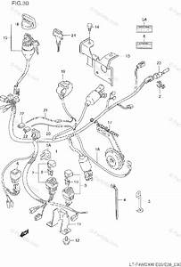 Suzuki Atv 1997 Oem Parts Diagram For Wiring Harness