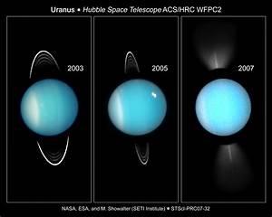 Uranus temperatur