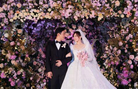 唐嫣的婚礼如童话,穿5600个小时打造的婚纱是真公主-中国时尚网