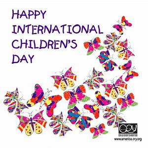 Happy International Children's Day. Free International ...