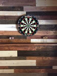 Diy, Pallet, Wall, For, Your, Dart, Board, Inspiration, For, Your, Man, Cave, Easy, To, Do, Yourself, Over, A