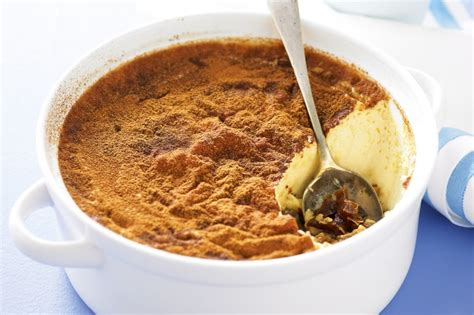 date and golden syrup baked custard recipe taste au