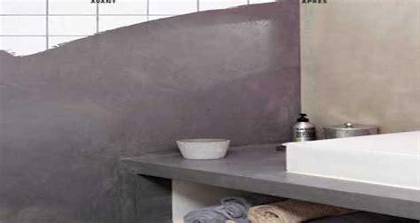 beton sur carrelage cuisine béton ciré sur carrelage conseils pour faire en mural et sol