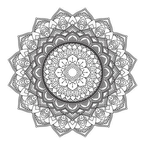 Indian ornament set free vector. Decorative mandala design 3005 - Download Free Vectors ...