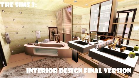Sims 3 Home Interior : The Sims 3 Interior Design Final Version Youtube