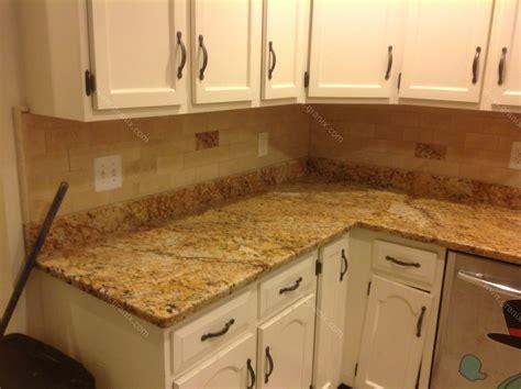 kitchen backsplash with granite countertops mac s before after solarius granite countertop