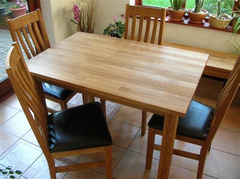 minsk solid oak kitchen tables  chair sets