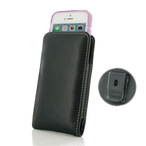 iphone 5s cases with clip iphone 5 iphone 5s in slim cover pouch clip