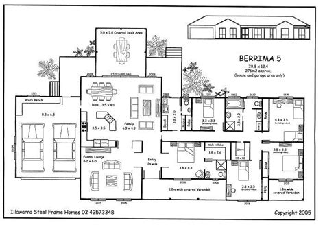5 Bedroom Home Design Plans : Beautiful 5 Bedroom Luxury House Plans