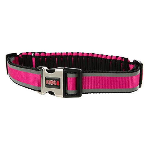 kong paracord reflective adjustable dog collar dog