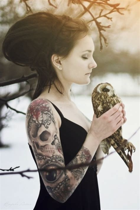 tattoos  women  arm