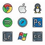 Software Icon Icons Social Square Logos Softwares