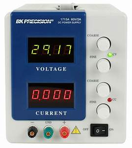 Model 1715a  4 Digit Display Dc Power Supply  0