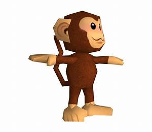Wii Mario Strikers Charged Ukiki The Models Resource