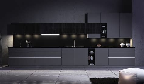 nueva tendencia en cocinas modernas cocinas negras