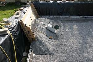 Geotextile Sous Gravier : suite radier blog piscine int rieure de brulo44 ~ Premium-room.com Idées de Décoration