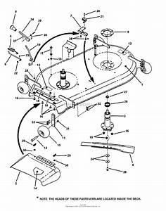 Snapper 422023bve  85684  42 U0026quot  20 Hp Rear Engine Rider Series 23 Parts Diagram For 42 U0026quot  Mower Deck