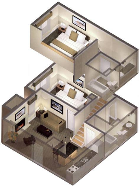 2 Bedroom Loft Rochester by 2 Bedroom Loft Apartments Photo Two Bedroom
