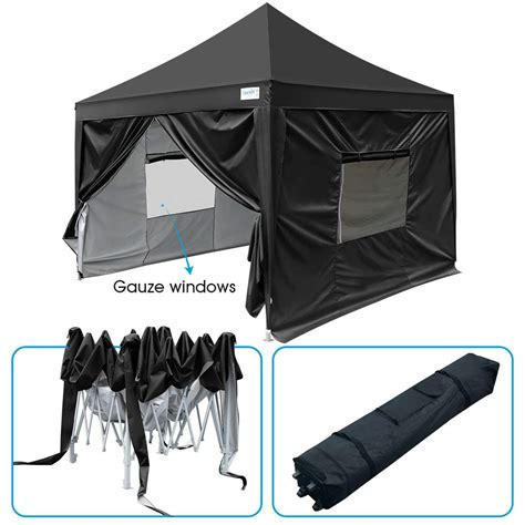 upgraded quictent  ez pop  canopy tent instant folding party tent  sides
