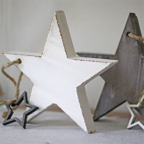 wooden star christmas decorations   wedding