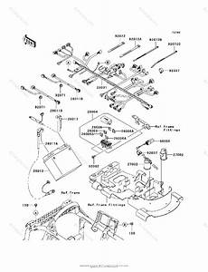 Kawasaki Atv 2006 Oem Parts Diagram For Chassis Electrical