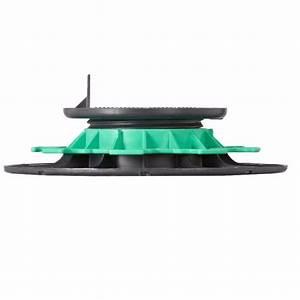 Plot Reglable Terrasse : plot lambourde en pvc r glable h 40 65 mm pour terrasse ~ Edinachiropracticcenter.com Idées de Décoration