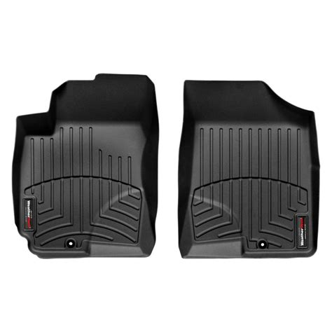 weathertech floor mats or liners weathertech 174 442481 digitalfit 1st row black molded floor liners