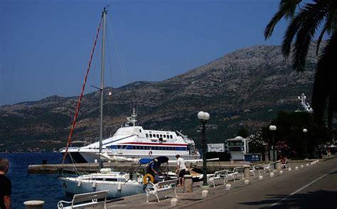Ferry Catamaran Dubrovnik Mljet by Catamaran Nona Ana Korculainfo