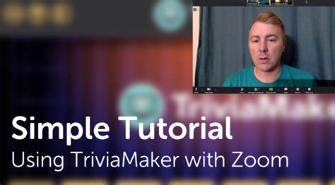 zoom trivia games using host play staff