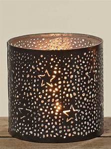 Kerzenhalter Schwarz Metall : weihnachtliches metall windlicht sterne teelichthalter kerzenhalter schwarz gold ebay ~ Sanjose-hotels-ca.com Haus und Dekorationen