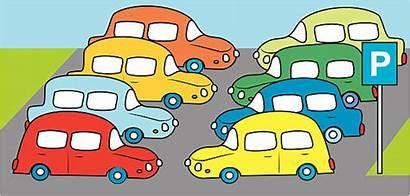 Parking Lot Clipart Parkplatz Clip Vector Illustrations