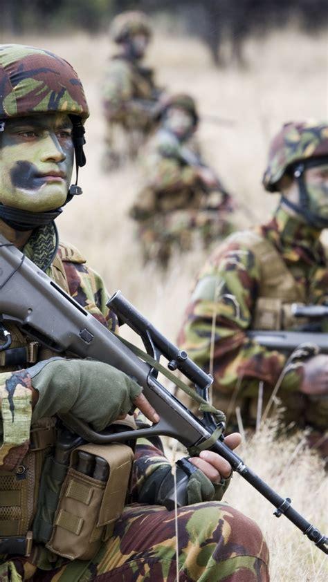 wallpaper  zealand army steyr aug soldier assault
