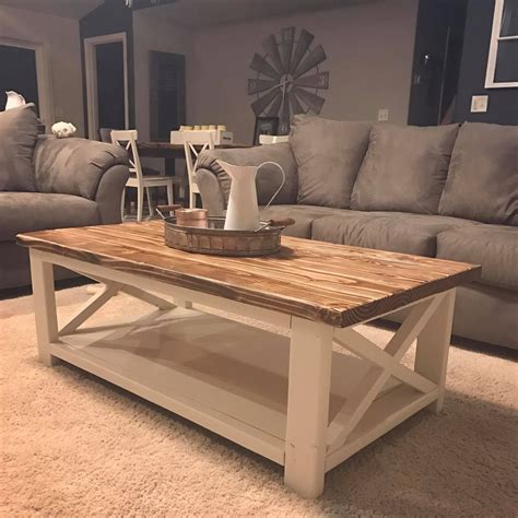 But today, my friends, i. Two tone coffee table   Home Design in 2019   Table decor living room, Coffee table decor living ...