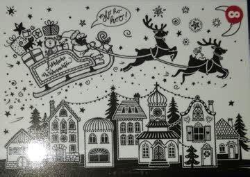 weihnachten fensterbild vorlage bine braendle fuer