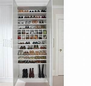 Placard à Chaussures : rangement chaussures id es pour armoire et dressing ~ Teatrodelosmanantiales.com Idées de Décoration